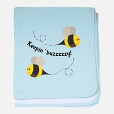 Keepin' Buzzzzzy! baby blanket