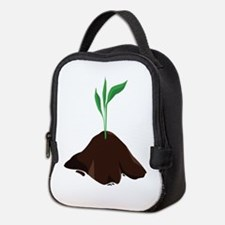Plant Sprout Neoprene Lunch Bag