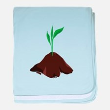 Plant Sprout baby blanket