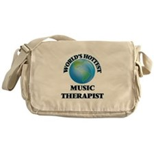 World's Hottest Music Therapist Messenger Bag