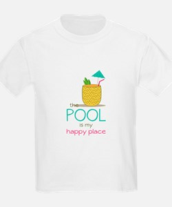 The Pool Is My Happy Place T-Shirt