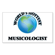 World's Hottest Musicologist Decal