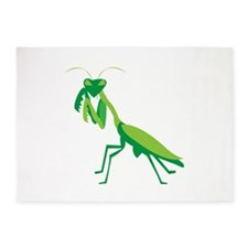 Praying Mantis 5'x7'Area Rug