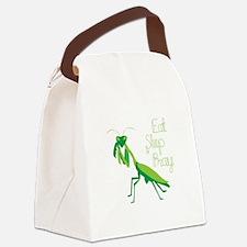 Eat Sleep Pray Canvas Lunch Bag