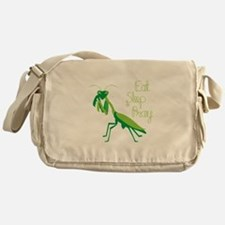 Eat Sleep Pray Messenger Bag