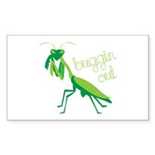 Buggin Out Decal