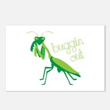 Buggin Out Postcards (Package of 8)