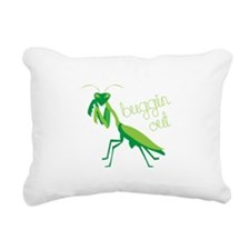 Buggin Out Rectangular Canvas Pillow