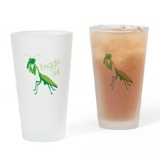 Buggin Out Drinking Glass