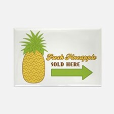 Fresh Pineapple Magnets