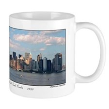 Twin Towers as seen in New York skyline / Mug