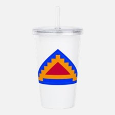 7TH_army_patch.png Acrylic Double-wall Tumbler