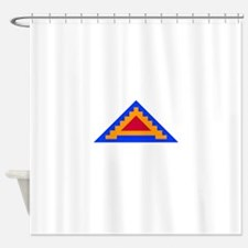 7TH_army_patch.png Shower Curtain