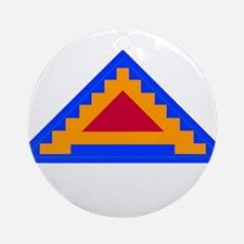 7TH_army_patch.png Ornament (Round)