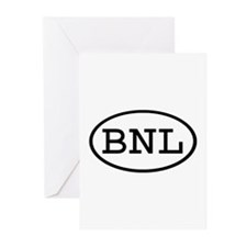BNL Oval Greeting Cards (Pk of 10)