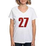 Glamorous 27 Women's V-Neck T-Shirt