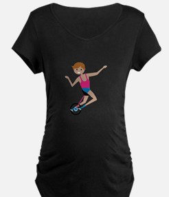 Thrill The Audience Maternity T-Shirt