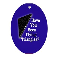 Flying Triangles Christmas Tree Ornament