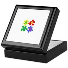 Puzzle Letters Keepsake Box