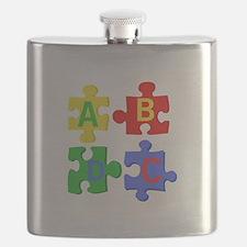 Puzzle Letters Flask
