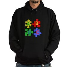 Puzzle Letters Hoody