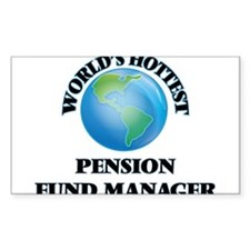 World's Hottest Pension Fund Manager Decal