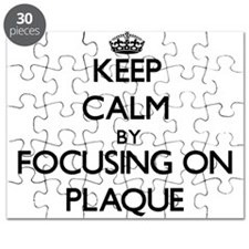 Keep Calm by focusing on Plaque Puzzle