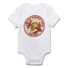 USS FORREST ROYAL Infant Bodysuit