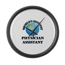 World's Hottest Physician Assista Large Wall Clock