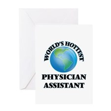World's Hottest Physician Assistant Greeting Cards