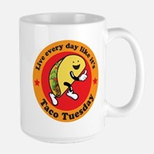 Taco Tuesday Every Day Mugs