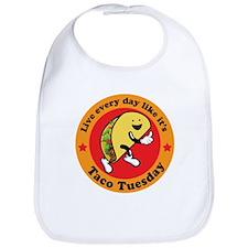 Taco Tuesday Every Day Bib