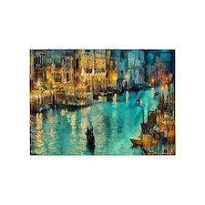 Venice Painting 5'x7'Area Rug