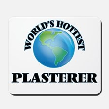 World's Hottest Plasterer Mousepad