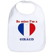 Giraud, Valentine's Day Bib
