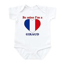 Giraud, Valentine's Day Infant Bodysuit