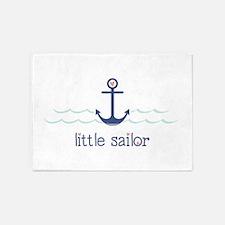 Little Sailor 5'x7'Area Rug