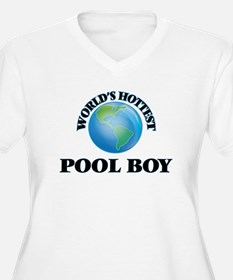 World's Hottest Pool Boy Plus Size T-Shirt