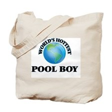 World's Hottest Pool Boy Tote Bag
