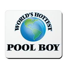World's Hottest Pool Boy Mousepad