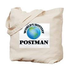 World's Hottest Postman Tote Bag