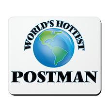 World's Hottest Postman Mousepad