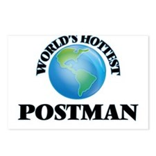 World's Hottest Postman Postcards (Package of 8)