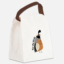 For The Birds Canvas Lunch Bag