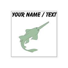 Custom Sawfish Sticker