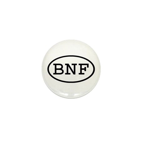 BNF Oval Mini Button (10 pack)