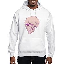 Purple Pop Skull Hoodie
