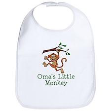 Oma's Little Monkey Bib