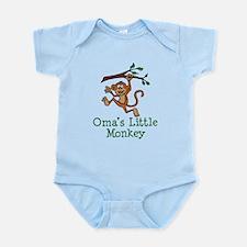Oma's Little Monkey Body Suit