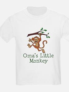 Oma's Little Monkey T-Shirt